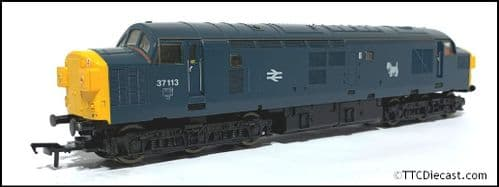 LIMA 205286 Class 37 37113 BR Blue Livery, Split Box, With Eastfield Scottie dog  *PRE OWNED*