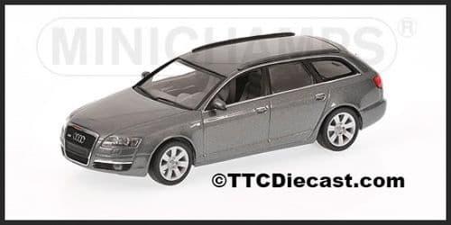 MINICHAMPS 400 013011 - Audi A6 Avant 2004 - Metallic Grey