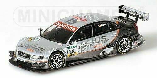 MINICHAMPS 400 051415 - Audi A4 DTM 'Audi Gebr. Plus' Kaffer *LAST ONE*