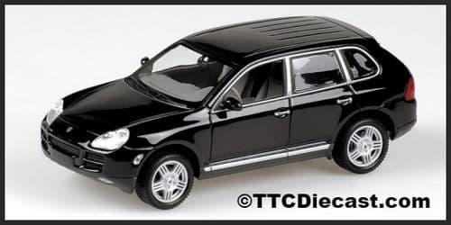 MINICHAMPS 400 061001 - Porsche Cayenne S 2002 - Met Black