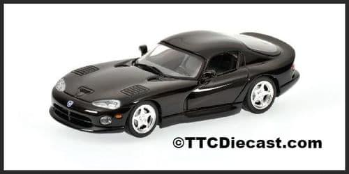 MINICHAMPS 430 144024 - Dodge Viper Coupe 1993 - Black