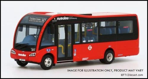 Model 1 63894 1/76 Optare Solo SR 7.9m , Metroline OS2502 Route H2 Golders Green *PRE ORDER £49.50*