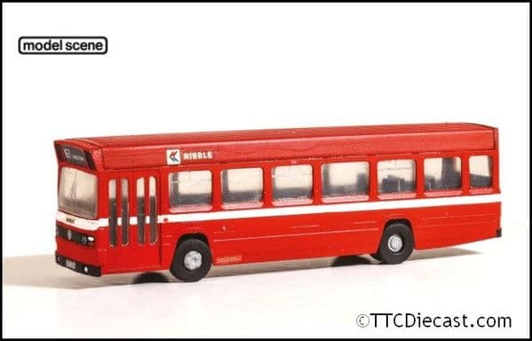 Modelscene 5142 Leyland National Single Deck Bus - Red Vari-kit