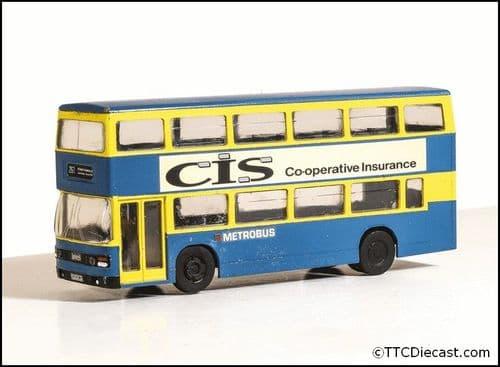 Modelscene 5502 Leyland Olympian Double Deck Bus - Metrobus Orpington Kent