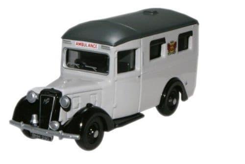 OXFORD 76AMB003 Austin 18 Ambulance - Carlisle