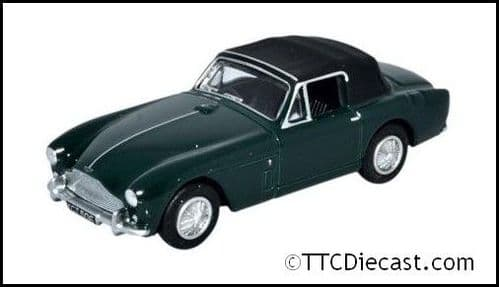 OXFORD 76AMDB2002 Aston Martin DB2 MkIII DHC - Dk British Racing green