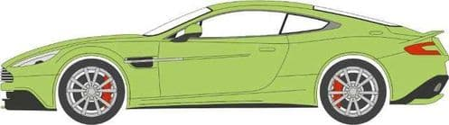 OXFORD 76AMV001 Aston Martin Vanquish Coupe Appletree Green