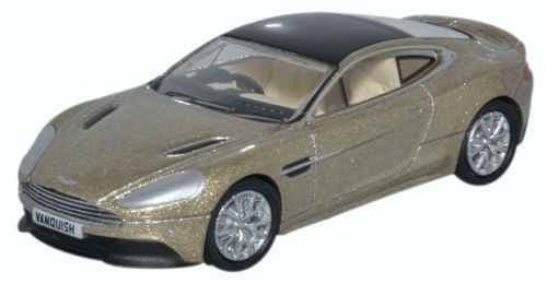 OXFORD 76AMV002 Aston Martin Vanquish Coupe Selene Bronze