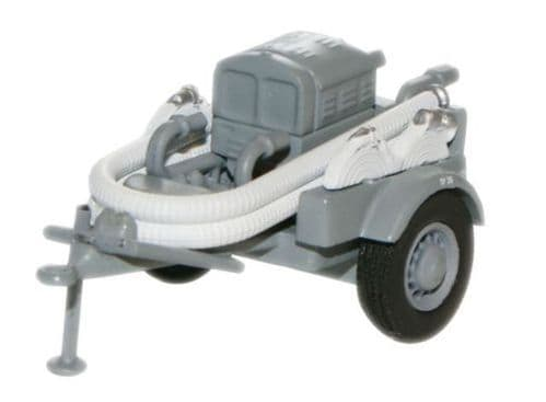OXFORD 76CCP001 Coventry Climax Pump Trailer - NFS Grey