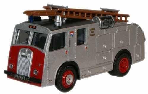OXFORD 76F8001 Dennis F8 - London Fire Brigade