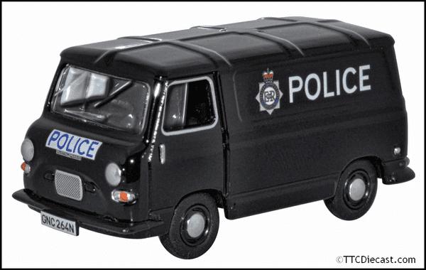 OXFORD 76J4005 J4 Van Greater Manchester Police, OO Gauge