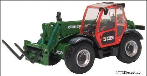 OXFORD 76LDL002 JCB Loadall Clancy Plant  - OO Gauge