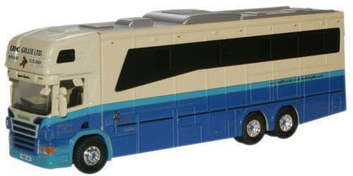 OXFORD 76SCA01HB Scania 380 Horsebox - Eric Gillie