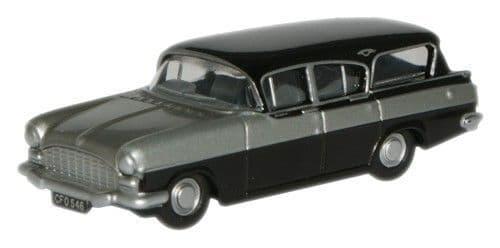 OXFORD NCFE004 Vauxhall Cresta Friary Silver Grey/Black