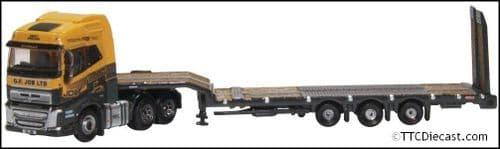 OXFORD NVOL4009 Volvo FH4 Semi Low Loader - G F Job - N Gauge