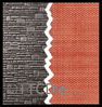 Peco NB-44 Brick Walling Sheets, blue, 127mm (5in) wide x 63mm (2½in) high