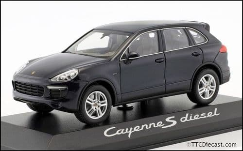 Porsche Dealer WAP0200080E 1:43 Scale Porsche Cayenne E2 II S (958) Diesel, Porsche Dealer Packaging