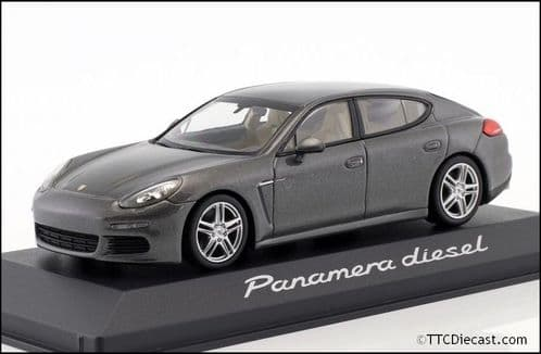 Porsche Dealer WAP0202300GY 1:43 Scale Porsche Panamera Diesel 2014 Agate Grey