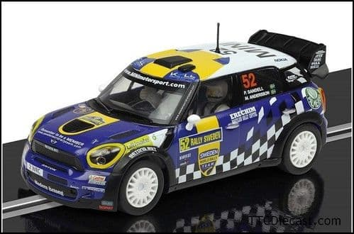 Scalextric C3401 Mini Countryman WRC, 2012 Sweden Rally, No.52 Sandell / Andersson