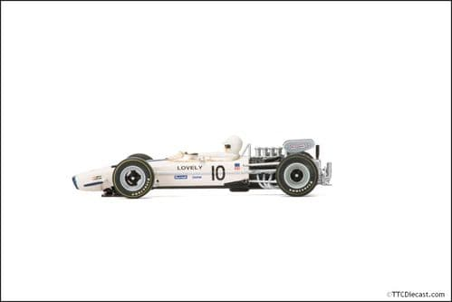 Scalextric C3707 Legends Team Lotus 49 - 1970 Race of Champions - No.10 Pete Lovely