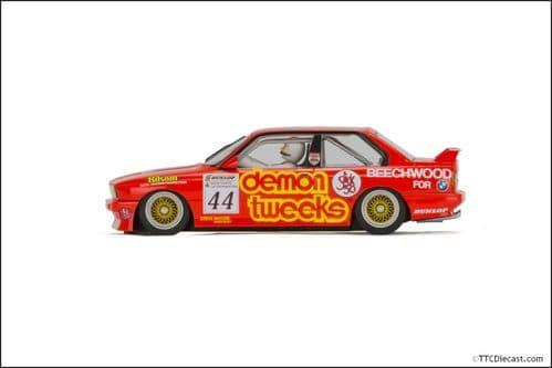 Scalextric C3739 BTCC BMW E30 M3 - No.44 Roland Ratzenberger, Brands Hatch 1988