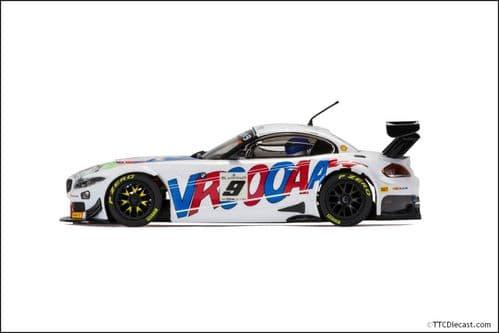 Scalextric C3855 BMW Z4 GT3,  2015 24 Hours of Spa, ROAL Motorsport No.9 Glock, Zanardi, Spengler