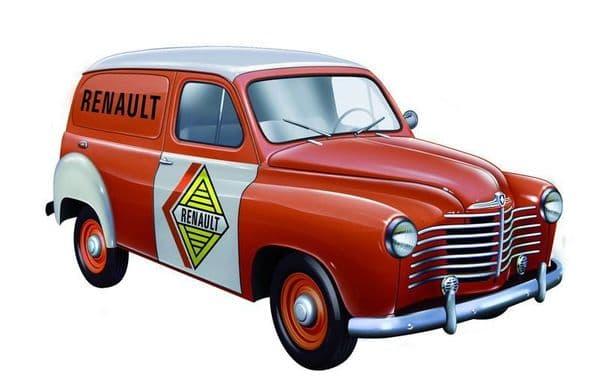 SOLIDO 143513 -  1:43 SCALE RENAULT COLORALE VAN 1953 - RENAULT