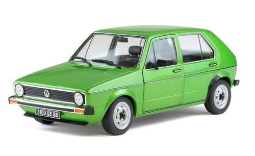 SOLIDO 1800203 VW Golf CL Mk1 - Green  1:18 Scale