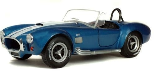SOLIDO 1850017 AC Cobra 427 Mk II Blue Metallic 1965  1:18 Scale