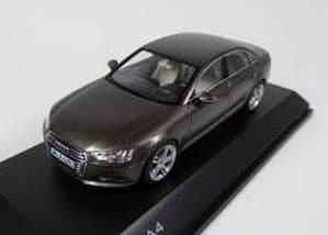 Spark 5011504133 - 1:43 Scale Audi A4 Argus Brown - Audi Dealer Packaging