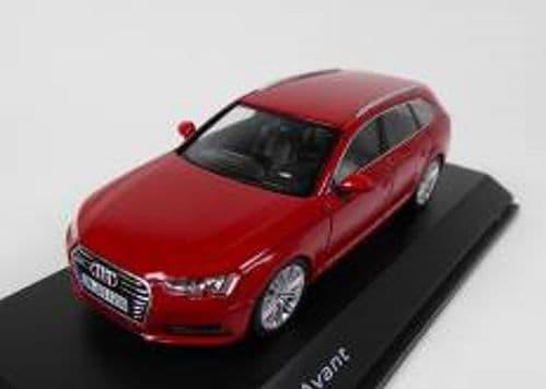 Spark 5011504223 - 1:43 Scale Audi A4 Avant Tango Red - Audi Dealer Packaging