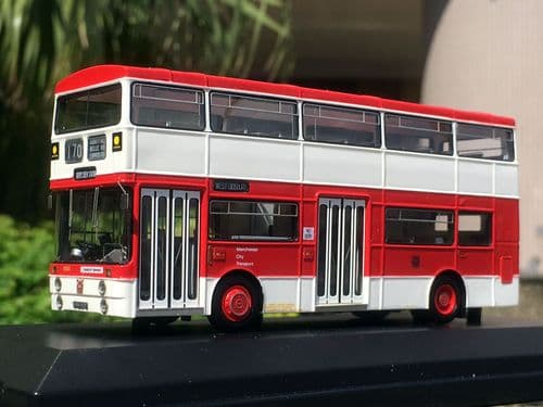 TTCDIECAST RES10001 Mancunian 1001 Red and cream **pre order £TBA**