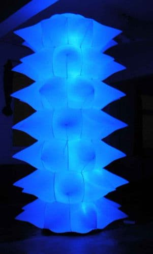 2 x 8FT Self Inflatable Spiked Towers