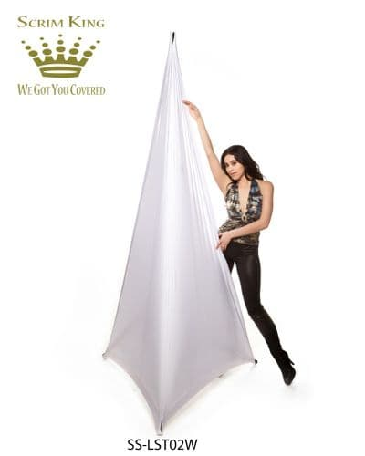 Scrim King SS-LST02-W Lighting Stand Cover £69.00 - Covers 2 sides 7- 14 ft SS-LST02W