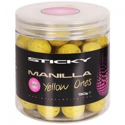 Sticky Baits Manilla Yellow Ones Wafters 16mm