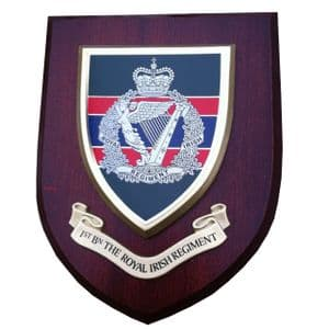 1 Bn Royal Irish Regiment Wall Plaque