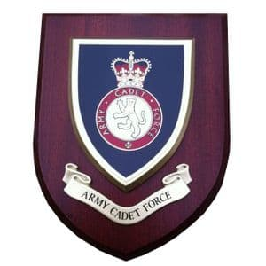 ACF Army Cadet Force Military Wall Plaque Mess Shield
