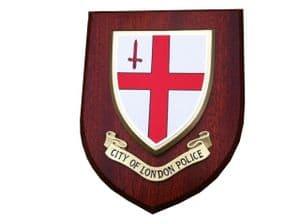 City of London Police Service Wall Plaque Shield