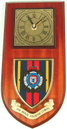 R.L.C. Royal Logistic Corps Regimental Wall Clock Plaque