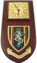 REME Royal Electrical Mechanical Engineers Regimental Wall Clock Plaque