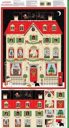 2133 1 House-Advent Panel WAS £8.00