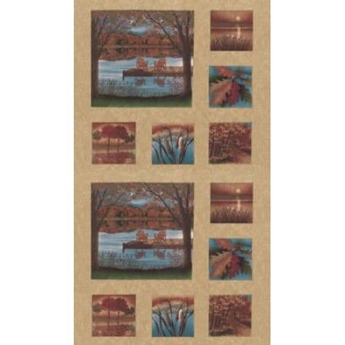 Autumn Reflection 8006710 Panel WAS £8.00