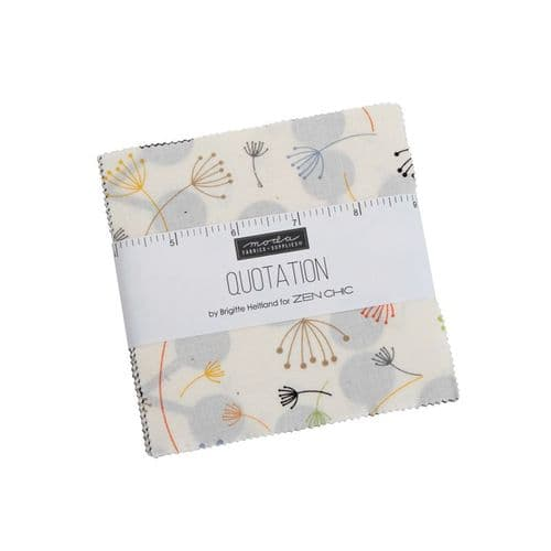Quotation Charm Pack 1730PP Now in stock