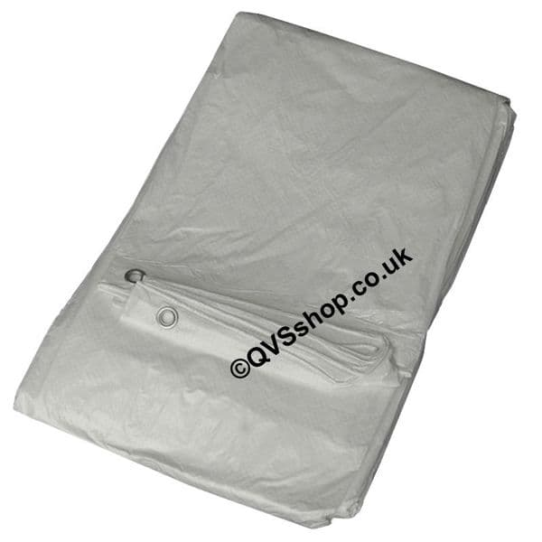 White Value Tarps   Temporary Waterproof Roof Covers