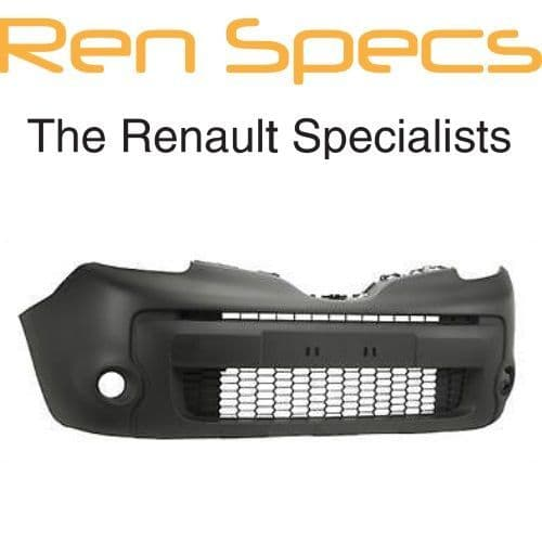 Brand New Renault Kangoo II Front Textured Bumper - No Moulding Holes