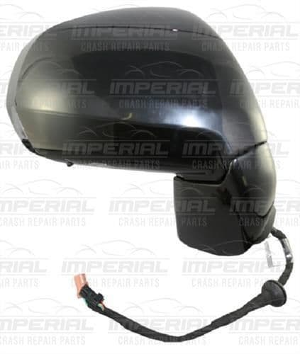 Citroen C3 Picasso O/S Door Mirror In Primer UK Driver Side Right with Puddle