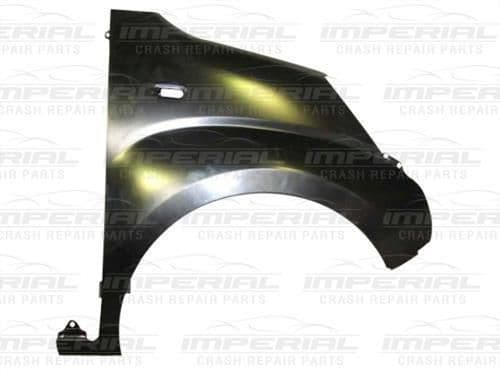 Citroen Nemo O/S Front Wing - No Moulding Holes - Right UK Drivers Side
