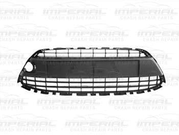 Ford Fiesta 3 door MK7 2008-2012 Front Bumper Grille Takes Chrome Surround (Standard Models)
