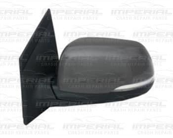 Kia Picanto 3dr Hatch 2011-2015 Door Mirror Elect Heat Power Fold Type Prime Cover Near Side