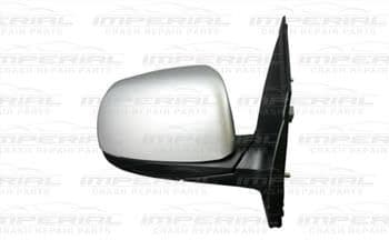 Kia Picanto 3dr Hatch 2015 - 2017 Door Mirror Manual Type With Primed Cover (No Repeater Lamp) O/S